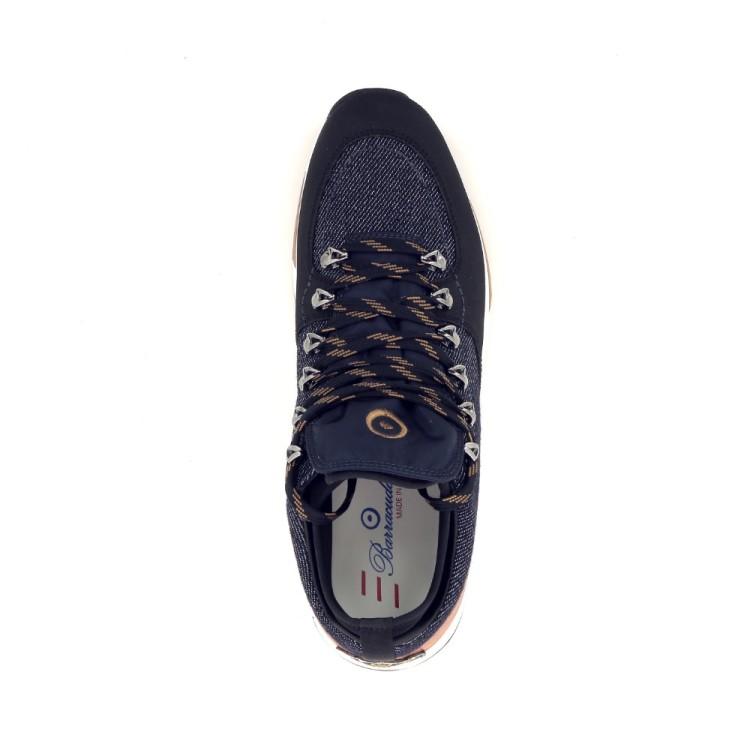 Barracuda herenschoenen veterschoen jeansblauw 190486
