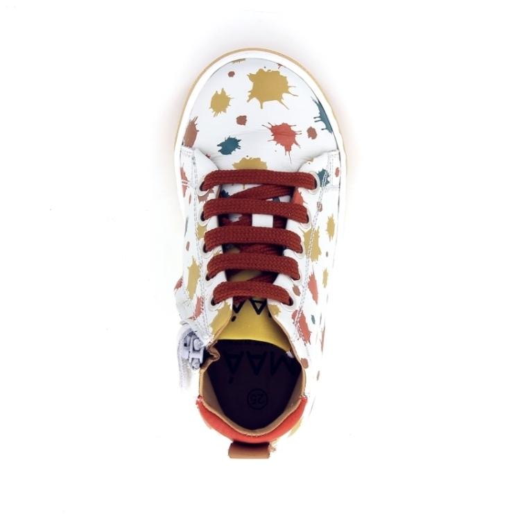 Maa kinderschoenen sneaker ecru 170198