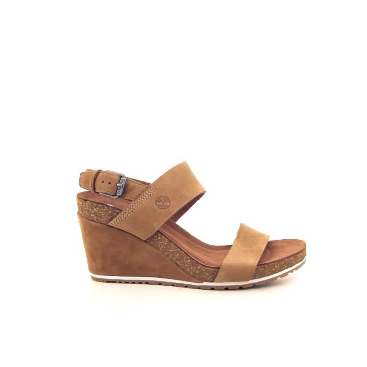 Timberland damesschoenen sandaal naturel 192354