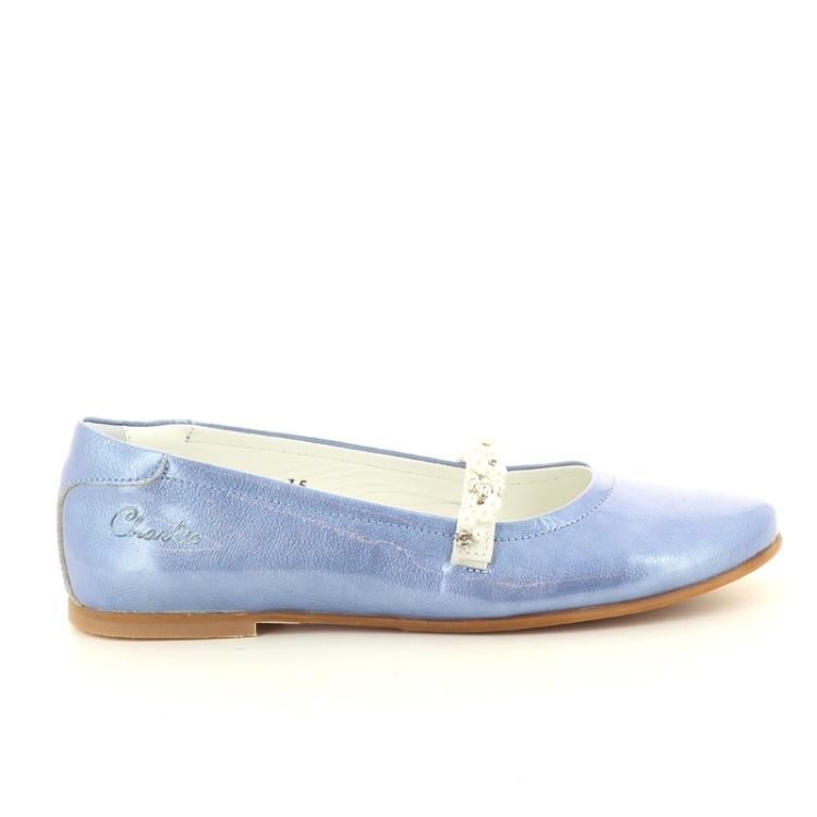 Charlie kinderschoenen ballerina jeansblauw 87511
