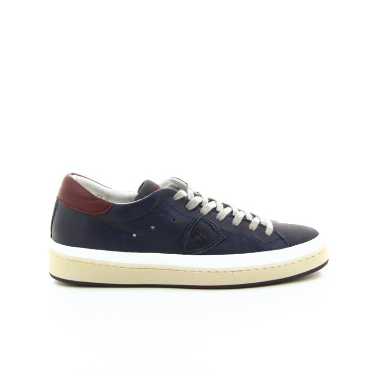 Philippe model herenschoenen sneaker blauw 18897