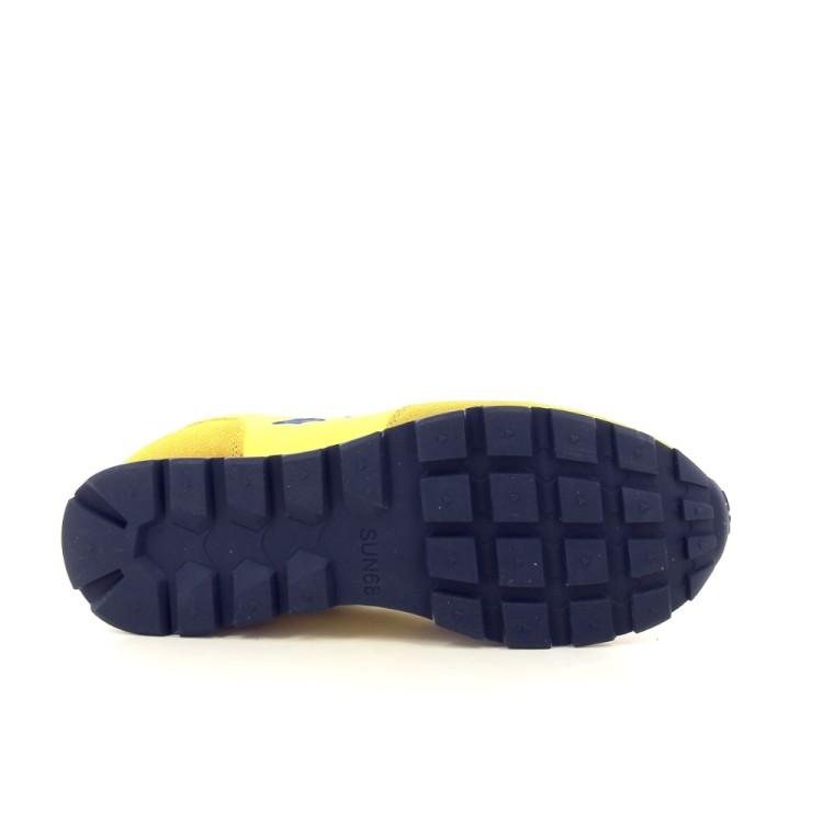 Sun 68 herenschoenen sneaker geel 194040