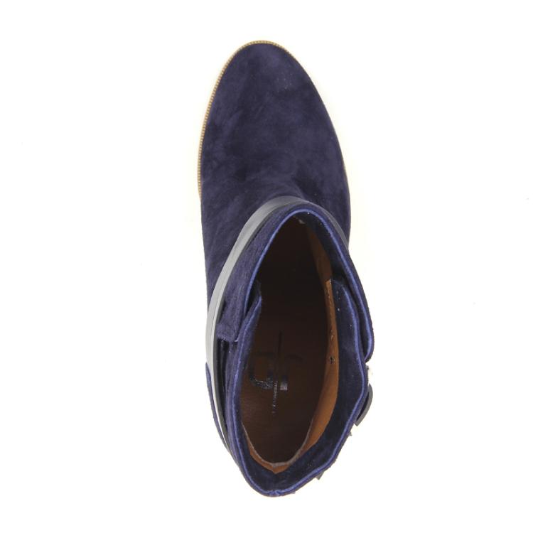 Julie dee damesschoenen boots donkerblauw 13198