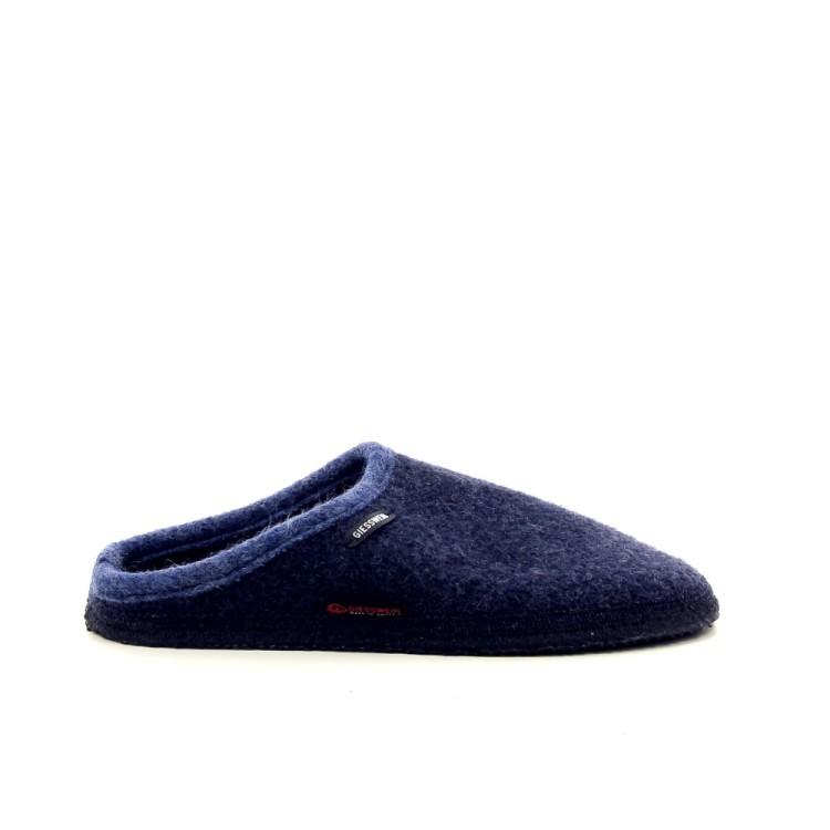 Giesswein herenschoenen pantoffel donkerblauw 189533