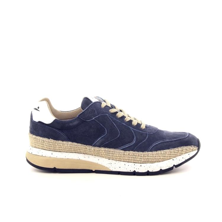 Voile blanche herenschoenen sneaker blauw 195595