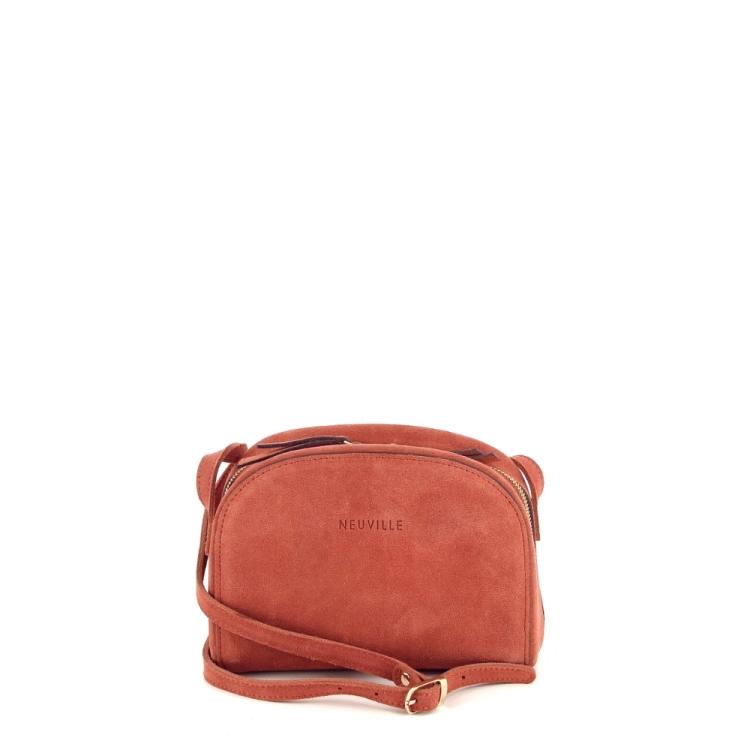 Neuville tassen handtas oranje 194973