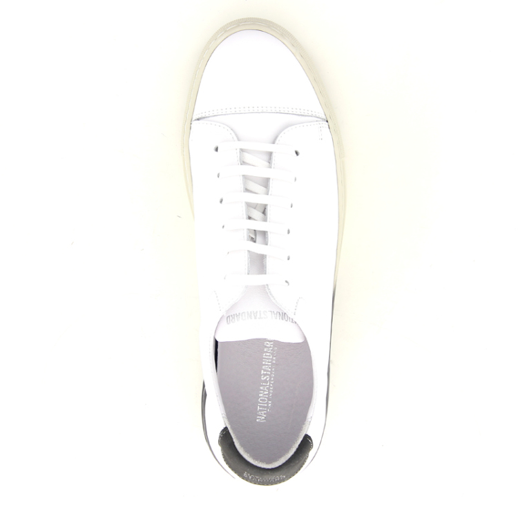 National standard herenschoenen sneaker wit 12113