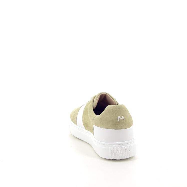 Maimai damesschoenen sneaker pistache 195106