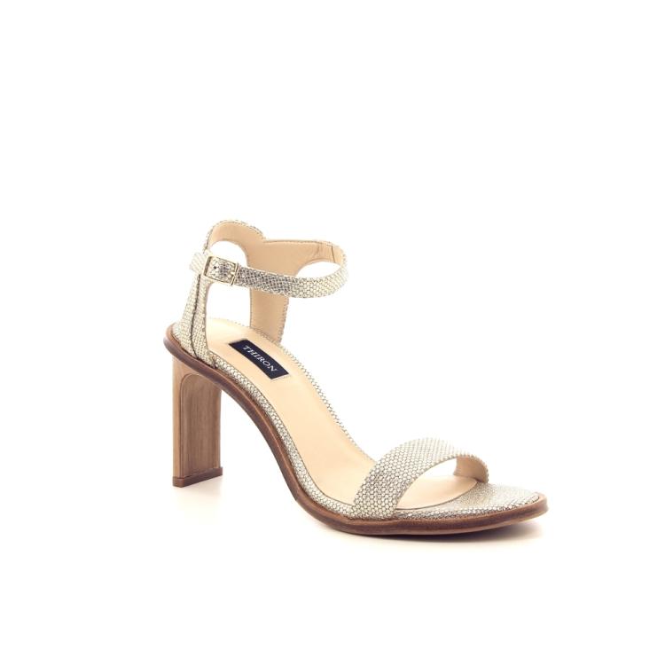 Thiron damesschoenen sandaal platino 195057