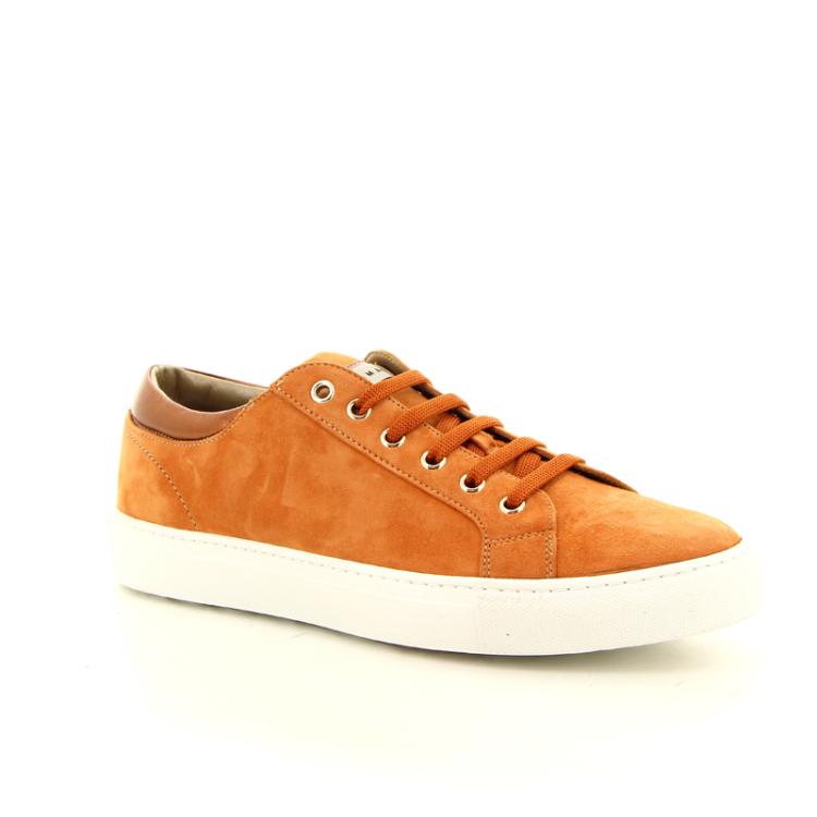 Maimai damesschoenen sneaker oranje 12490