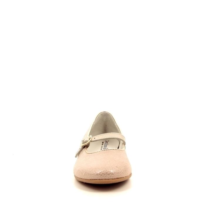 Zecchino d'oro kinderschoenen ballerina platino 170944