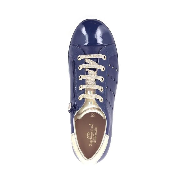 Zecchino d'oro kinderschoenen veterschoen blauw 183762