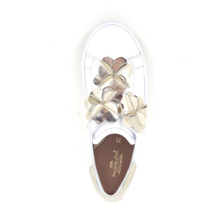 Zecchino d'oro kinderschoenen mocassin wit 183769