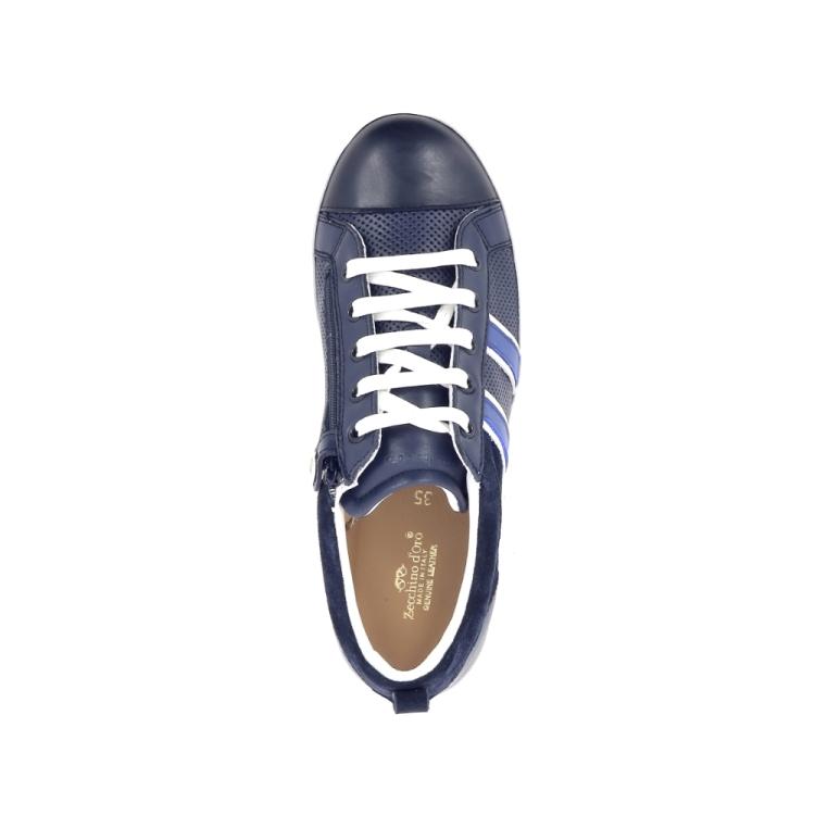 Zecchino d'oro kinderschoenen veterschoen donkerblauw 194253