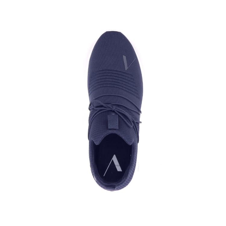 Arkk  herenschoenen sneaker donkerblauw 191342
