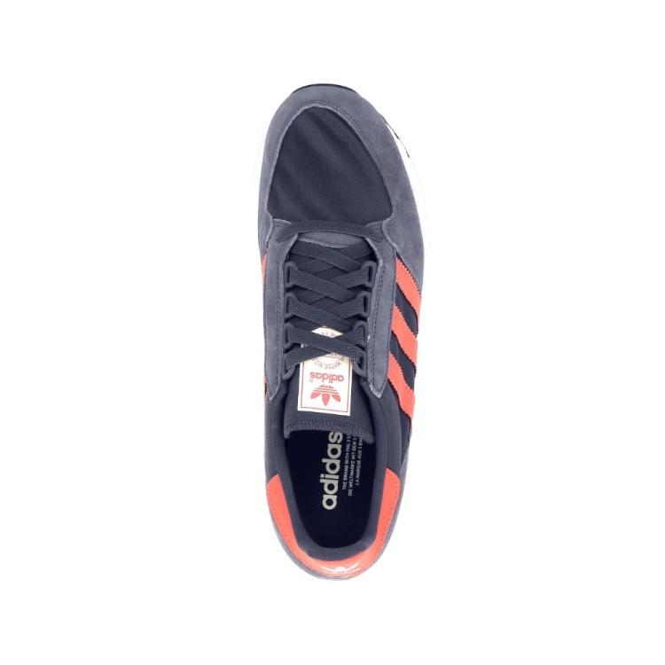 Adidas herenschoenen sneaker donkergrijs 192780