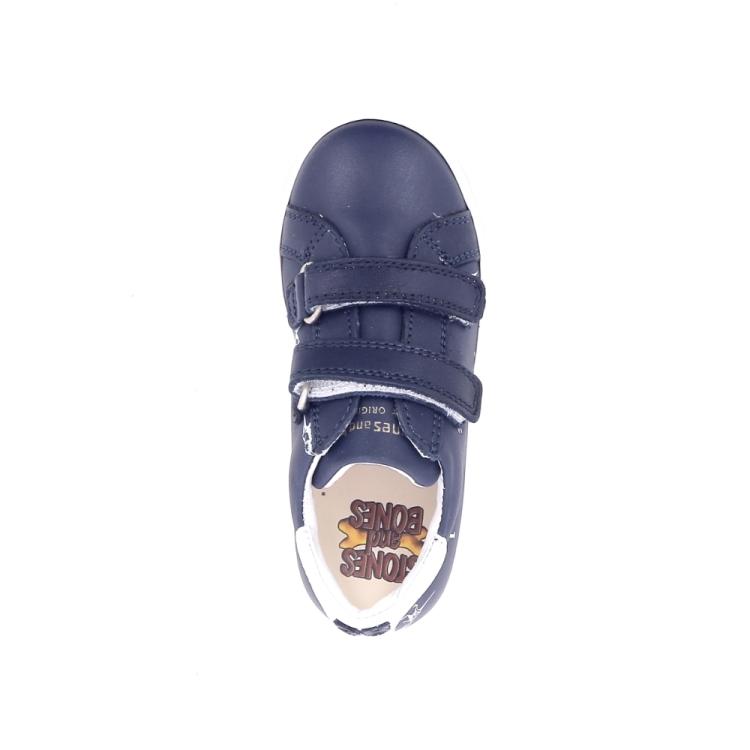 Stones and bones kinderschoenen sneaker donkerblauw 192114