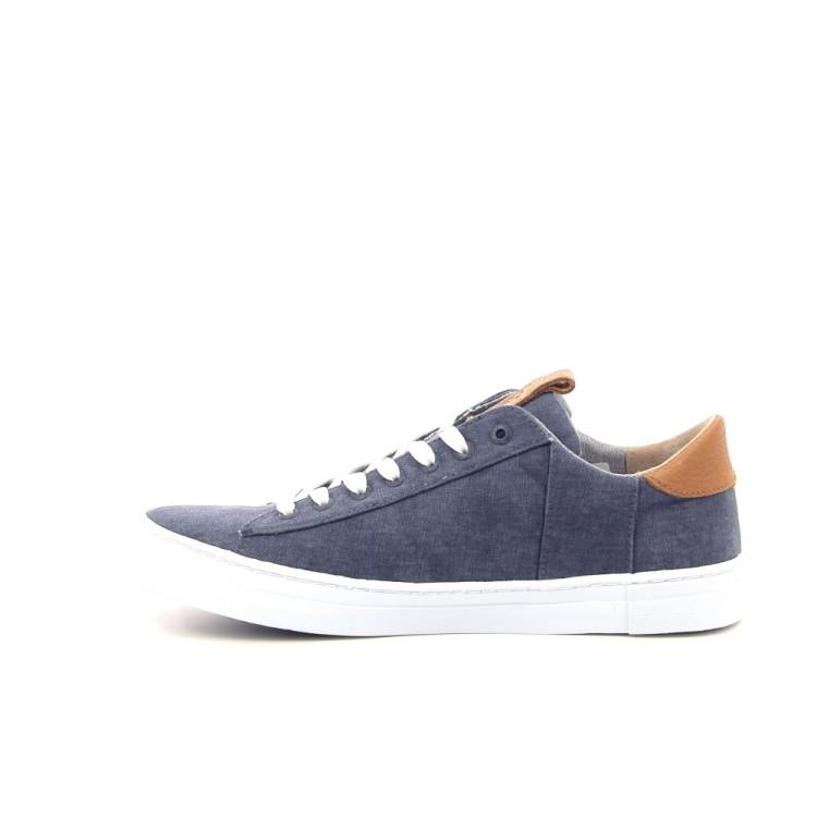 Hub herenschoenen sneaker blauw 192944