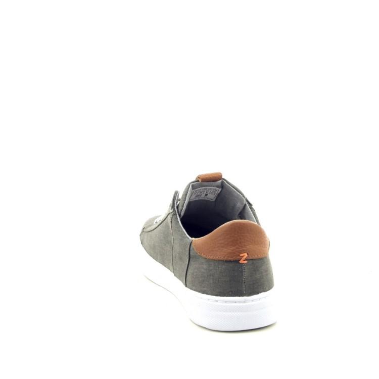 Hub herenschoenen sneaker kaki 192945