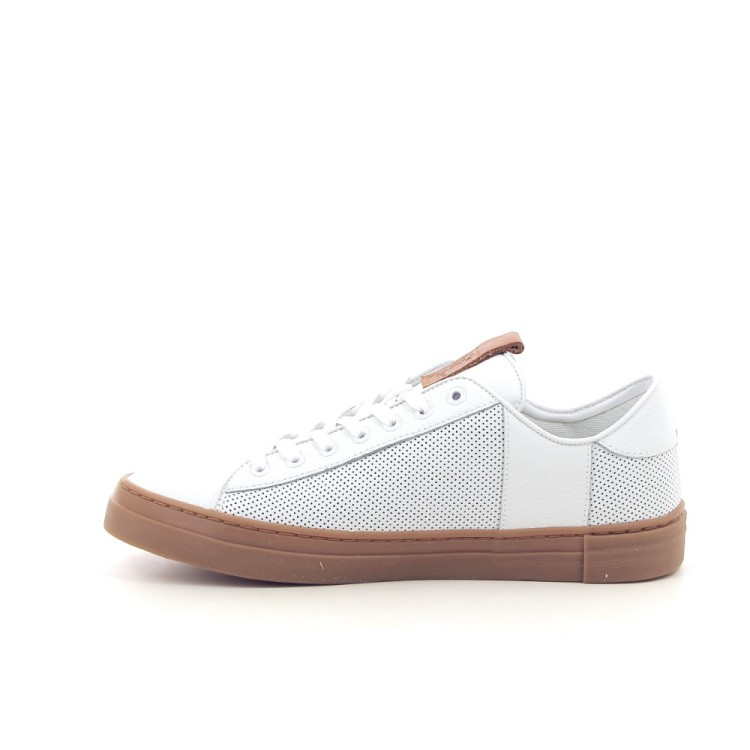 Hub herenschoenen sneaker wit 192946