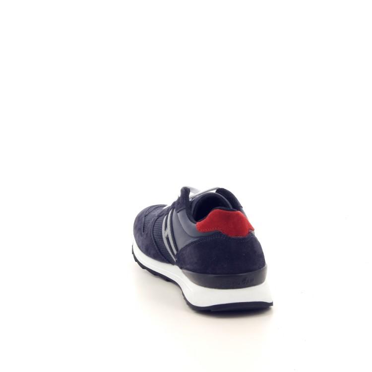Hogan kinderschoenen sneaker donkerblauw 188821