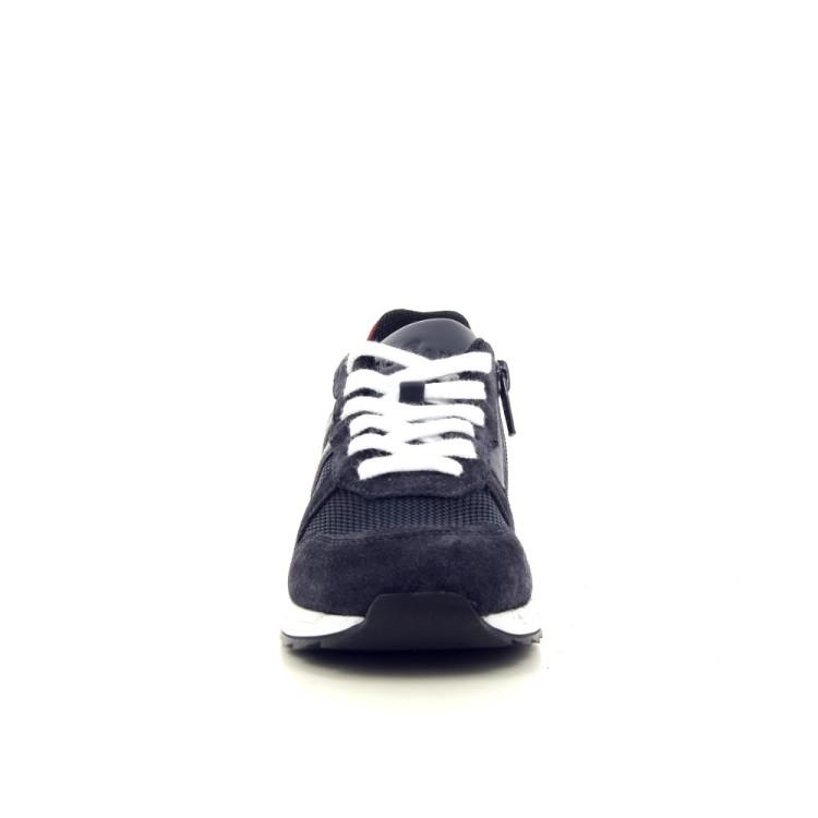 Hogan kinderschoenen sneaker donkerblauw 188823