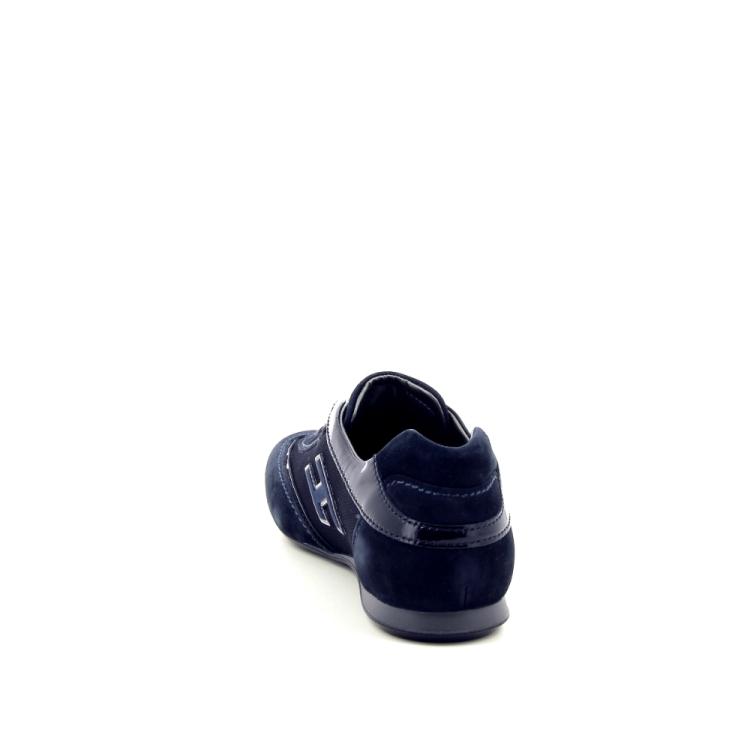 Hogan damesschoenen veterschoen donkerblauw 187061