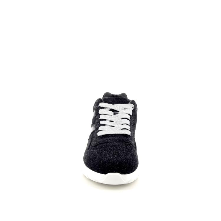 Hogan damesschoenen veterschoen zwart 187037