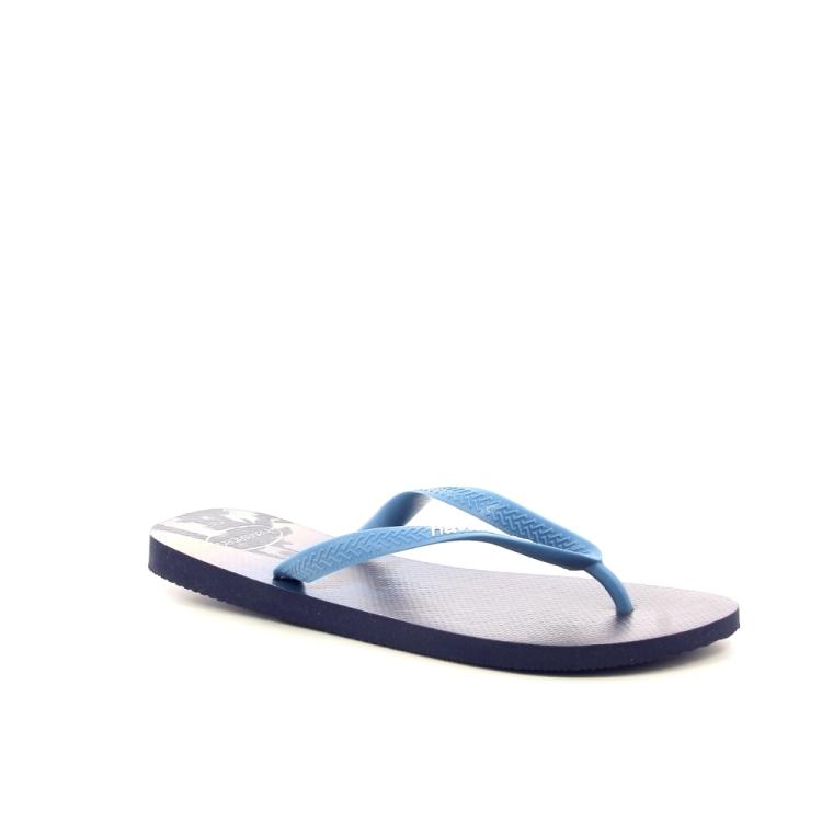Havaianas herenschoenen sleffer blauw 192271