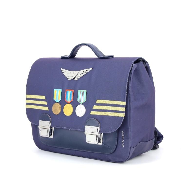 Jeune premier tassen boekentas donkerblauw 186908