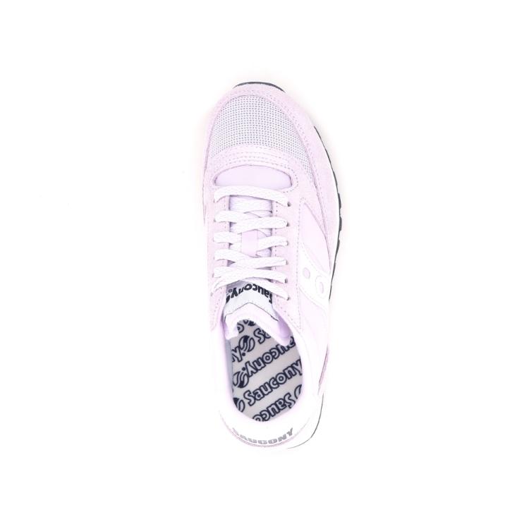 Saucony damesschoenen sneaker lila 194352