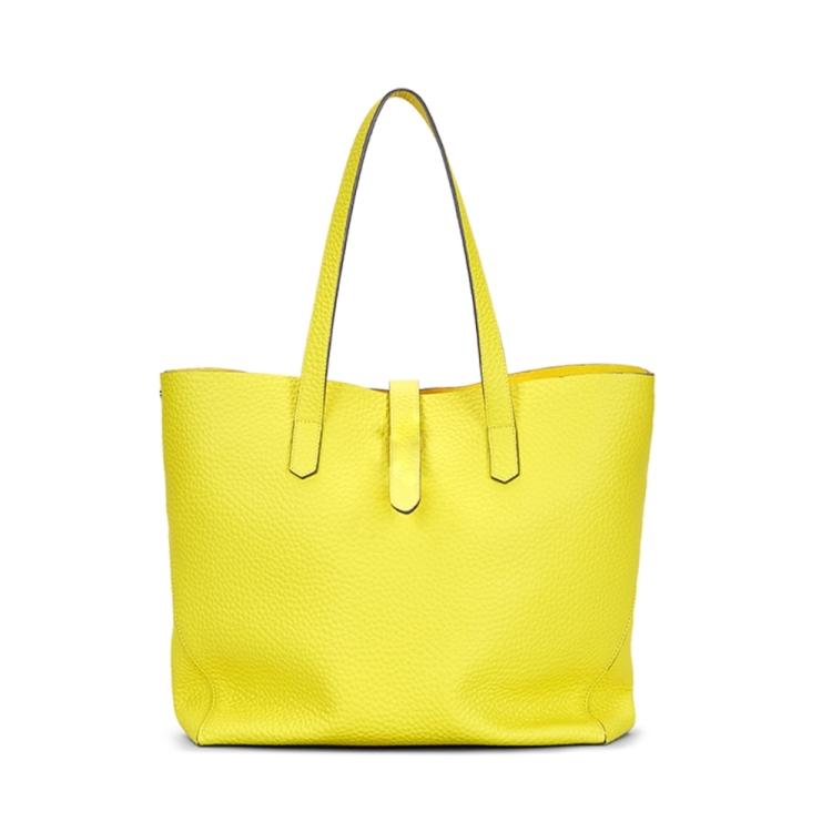 Hogan tassen handtas citroengeel 192061