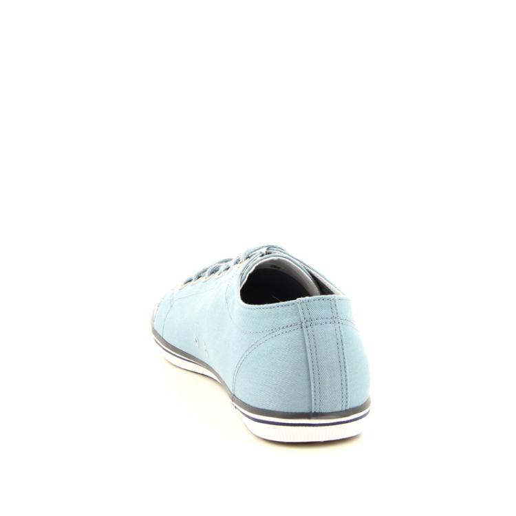 Fred perry herenschoenen sneaker lichtblauw 98340
