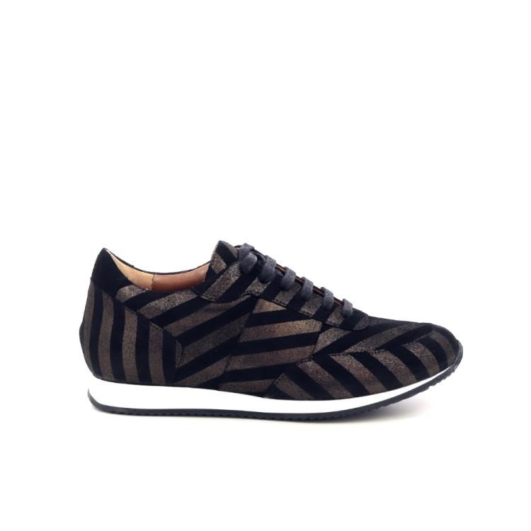 Atelier content damesschoenen sneaker zwart 201053