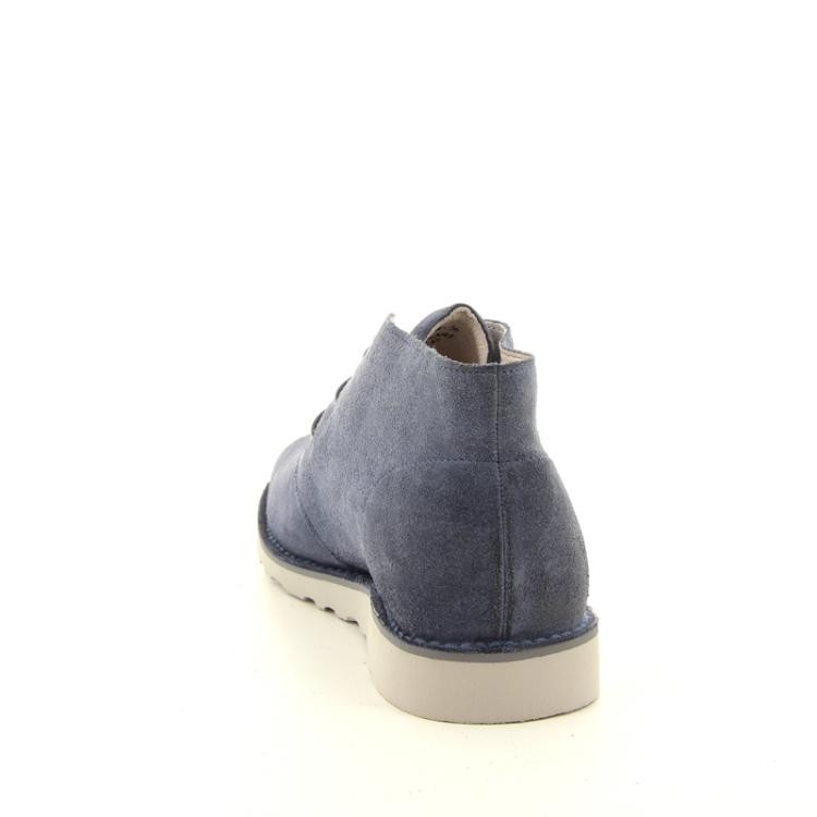 Blackstone herenschoenen boots jeansblauw 98915