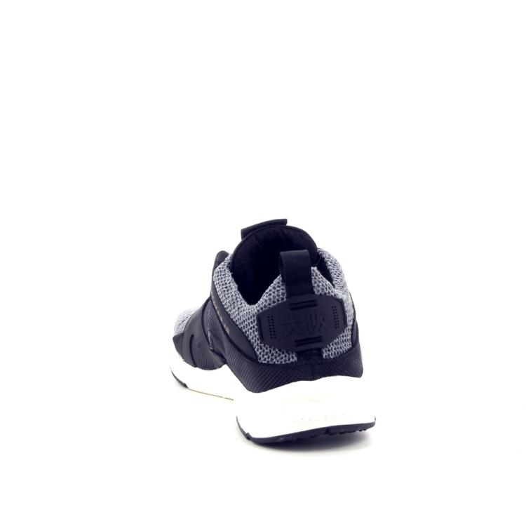 Osaka damesschoenen sneaker grijs 186517
