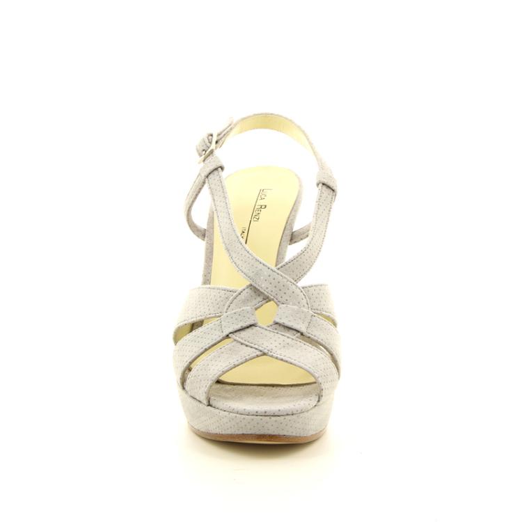 Luca renzi damesschoenen sandaal lichtgrijs 15211