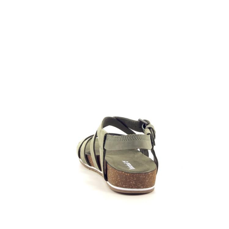 Timberland damesschoenen sandaal kaki 192353