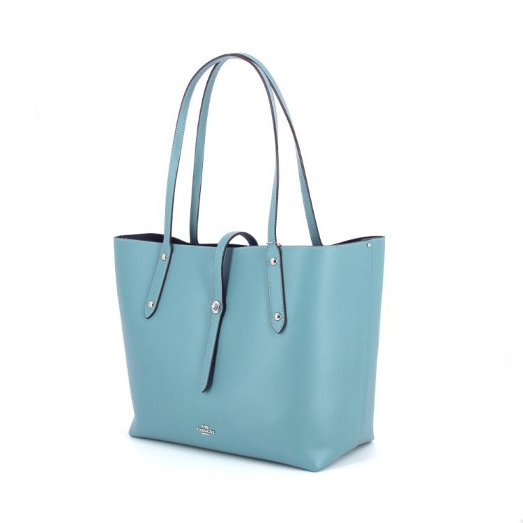 Coach tassen handtas turquoise 182312