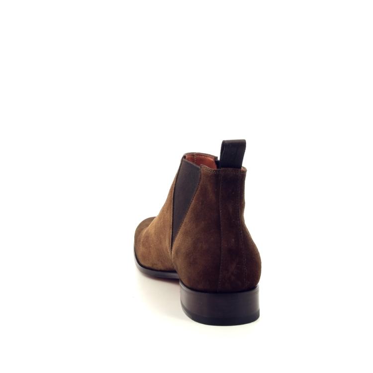 Santoni herenschoenen boots cognac 191739