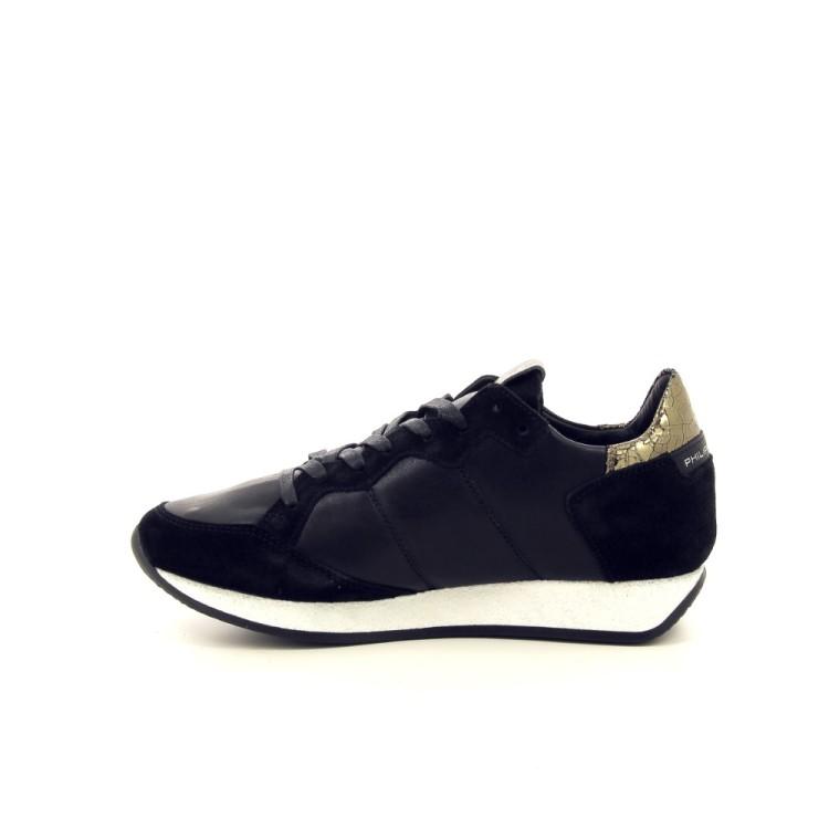Philippe model damesschoenen sneaker zwart 190581