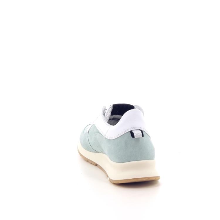 Philippe model damesschoenen sneaker muntgroen 191710