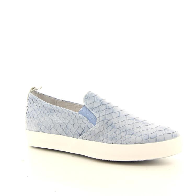 Louisa damesschoenen sneaker lichtblauw 13377