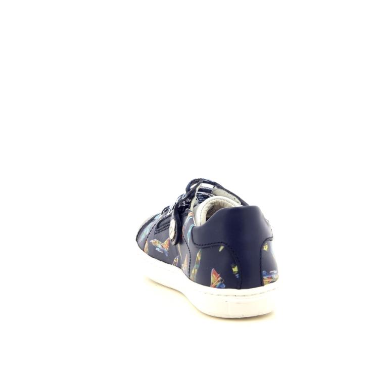 Zecchino d'oro kinderschoenen veterschoen donkerblauw 194249