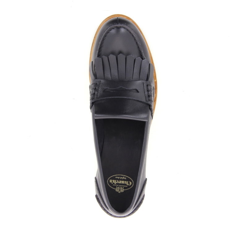 Church's damesschoenen mocassin zwart 12439