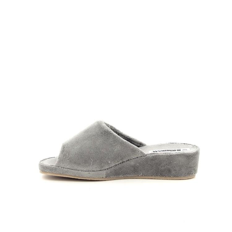 Romika damesschoenen pantoffel grijs 189808
