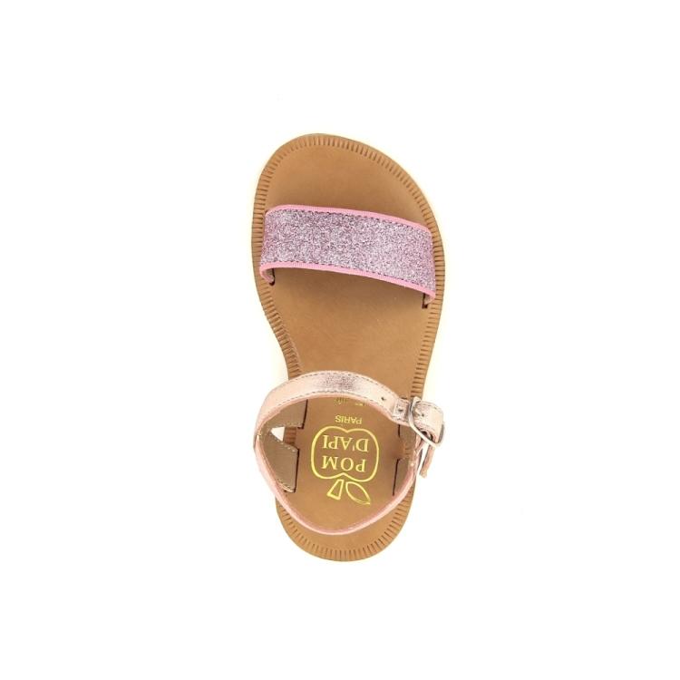 Pom d'api kinderschoenen sandaal rose 183423