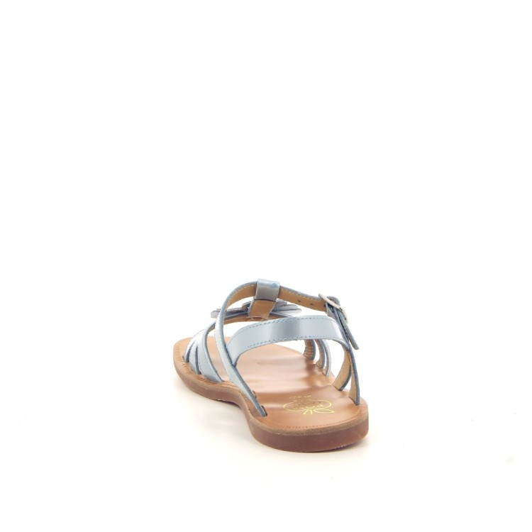 Pom d'api kinderschoenen sandaal hemelsblauw 183417