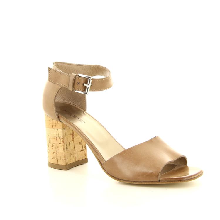 Progetto damesschoenen sandaal licht naturel 13545