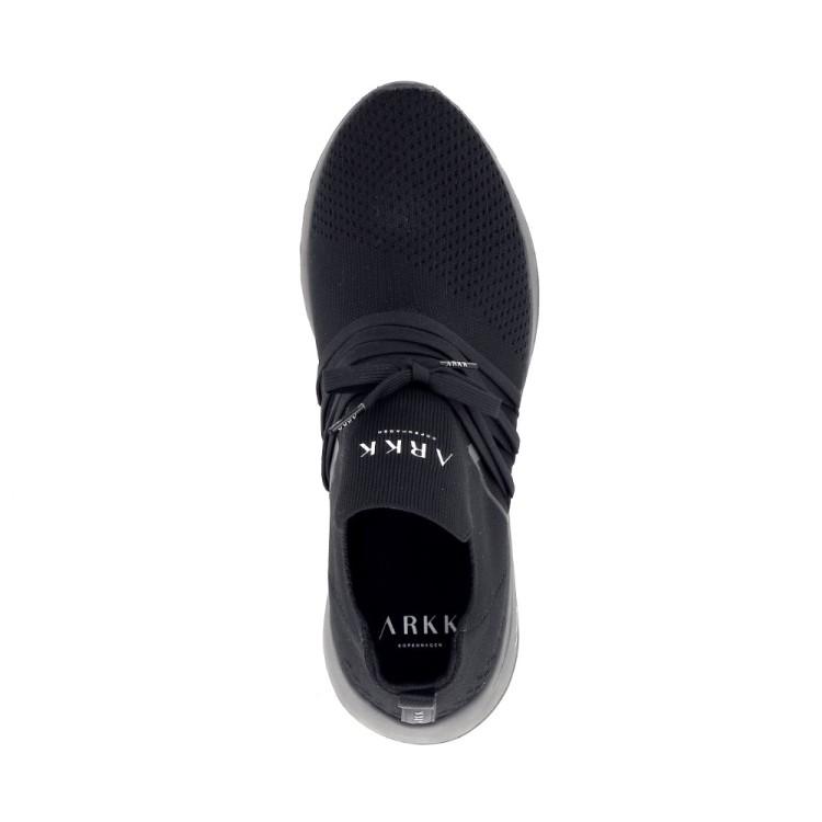 Arkk  herenschoenen sneaker zwart 195883